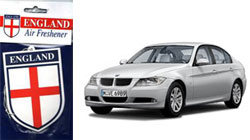 BMW & England Air Freshener