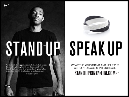 Stand Up Speak Up Henry Ad
