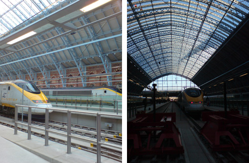 Roof and Eurostar