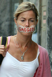 Kate McCann gagged
