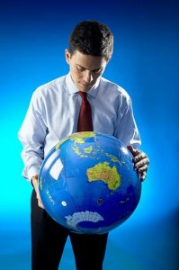 David Miliband - photo from Facebook page