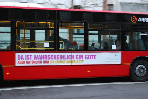 As seen on the streets of Zürich - made with the bus slogan generator