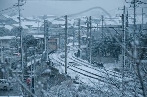 Snowy railways - CC / Flickr