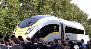 Eurostar e320 launch - CC/Flickr