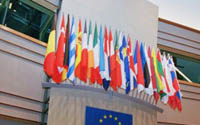 Brussels flags