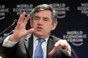 Gordon Brown at the World Economic Forum - CC / Flickr