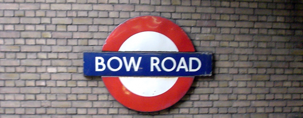 Bow Road Underground Station Sign - CC / Flickr