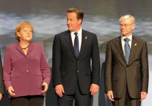 Merkel, Cameron, Van Rompuy - CC / Flickr